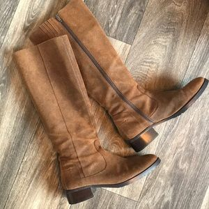 Donald J Pliner Bixby Tall Suede Leather Boots 7.5